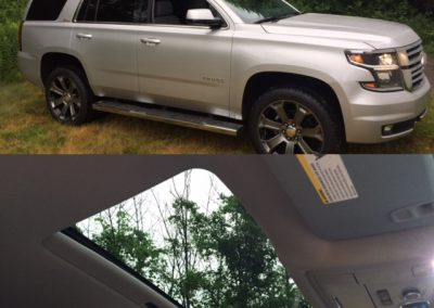 2016 Tahoe power roof