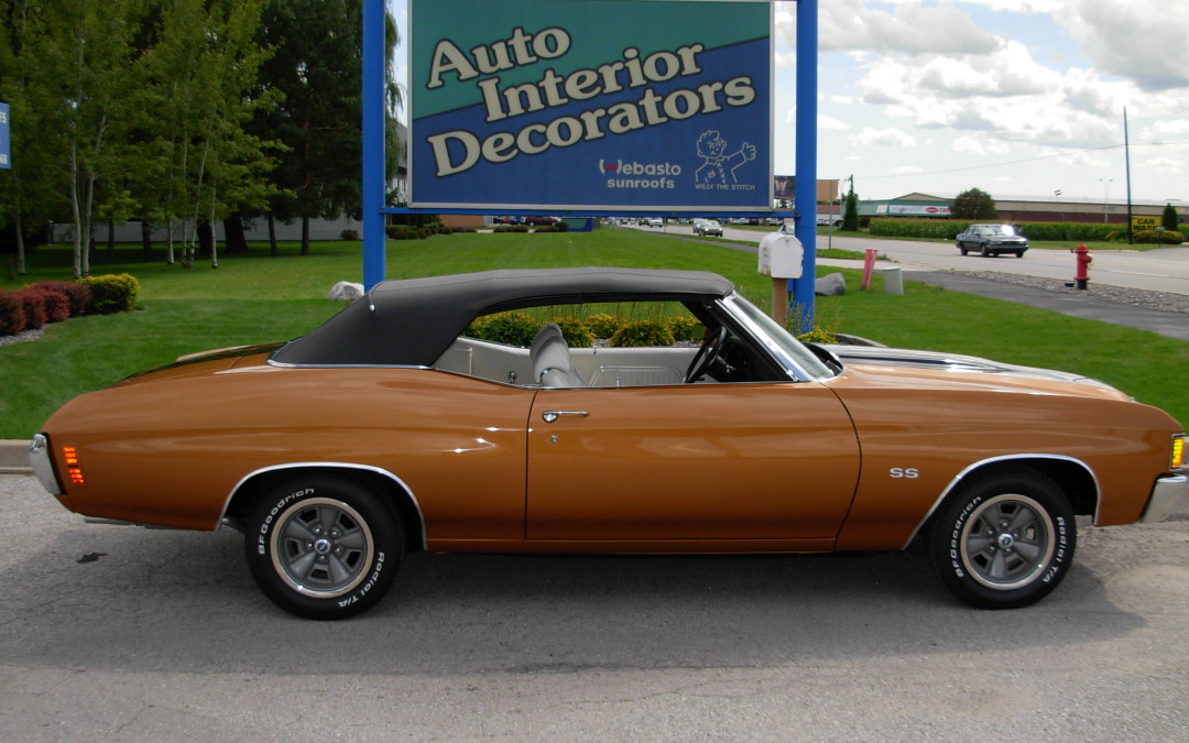 Chevelle Gold 1972