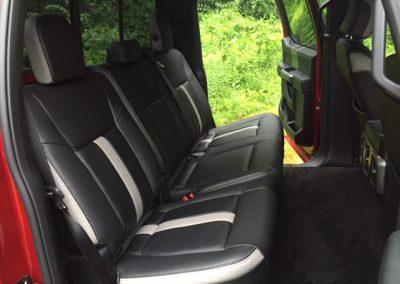 Rear Interior